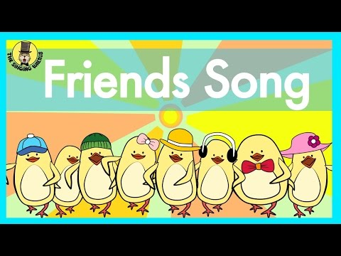 friends-song-|-verbs-song-for-kids-|-the-singing-walrus