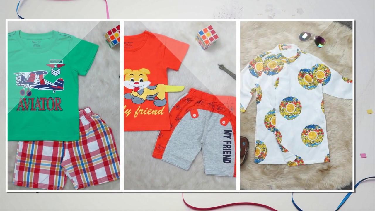 Nguồn hàng quần áo trẻ em Cambodia xuất khẩu giá rẻ