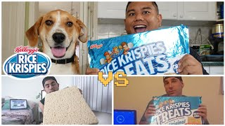 Giant Rice Krispy Treat Sheet Challenge vs Nathan Figueroa & US Male