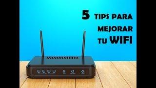 Video 5 Tips para mejorar tu Wifi  - Francisco Perez Yoma Tech download MP3, 3GP, MP4, WEBM, AVI, FLV Oktober 2018