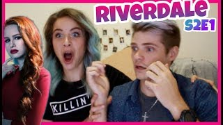 REACTING TO RIVERDALE PREMIERE | Season 2 Episode 1 | A Kiss Before Dying Reaction Video