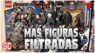 ¡Mas Figuras Filtradas Avengers 4: Endgame! ¿Revelada La COLOSAL Arma Que Derrotara A Thanos?
