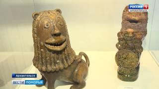 В Архангельську відкрилася виставка кераміки ''Лев, дракон і півень''