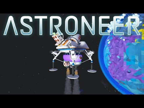 Astroneer - Spaceship Planet Hopping! Ep 6 - Let's Play Astroneer Gameplay