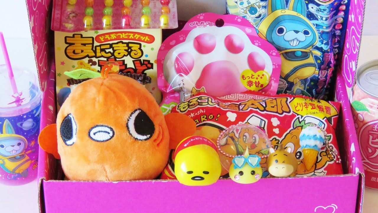 Japanese Kawai Toys Candy Sweets Goodies Japancrate