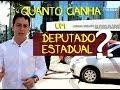 Quanto realmente ganha um Deputado Estadual no Ceará?