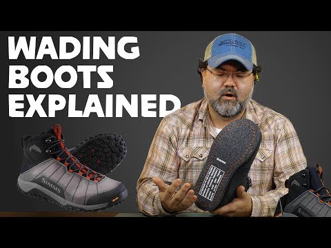 3 TYPES Of Wading Boots EXPLAINED