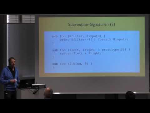 gpw2016 Martin Becker - Perl 5.26 Ideen für die große Schwester von Perl 6