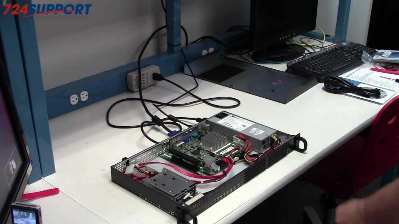 Supermicro Quiet 1U Atom Server SYS-5015A-EHF-D525 (2/2)