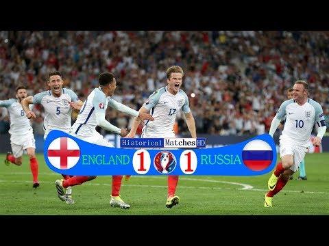 🔥 Россия - Англия 1-1 - Обзор Матча Чемпионата Европы 11/06/2016 HD 🔥