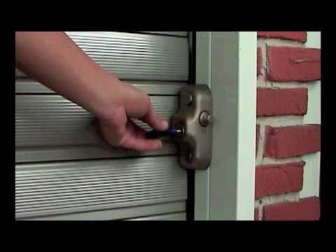Gatelock Serrande - Sistema di sicurezza per negozio, casa e box auto - YouTube