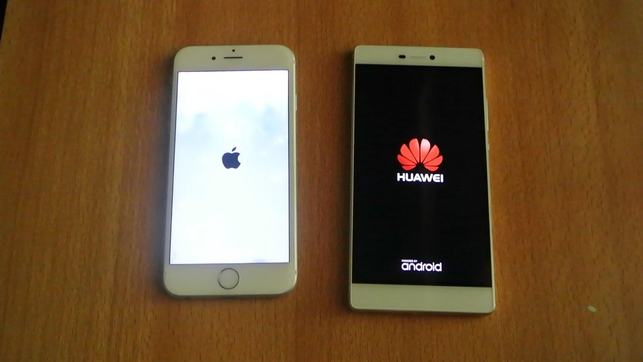 Iphone 6 Vs Huawei P8 Lite