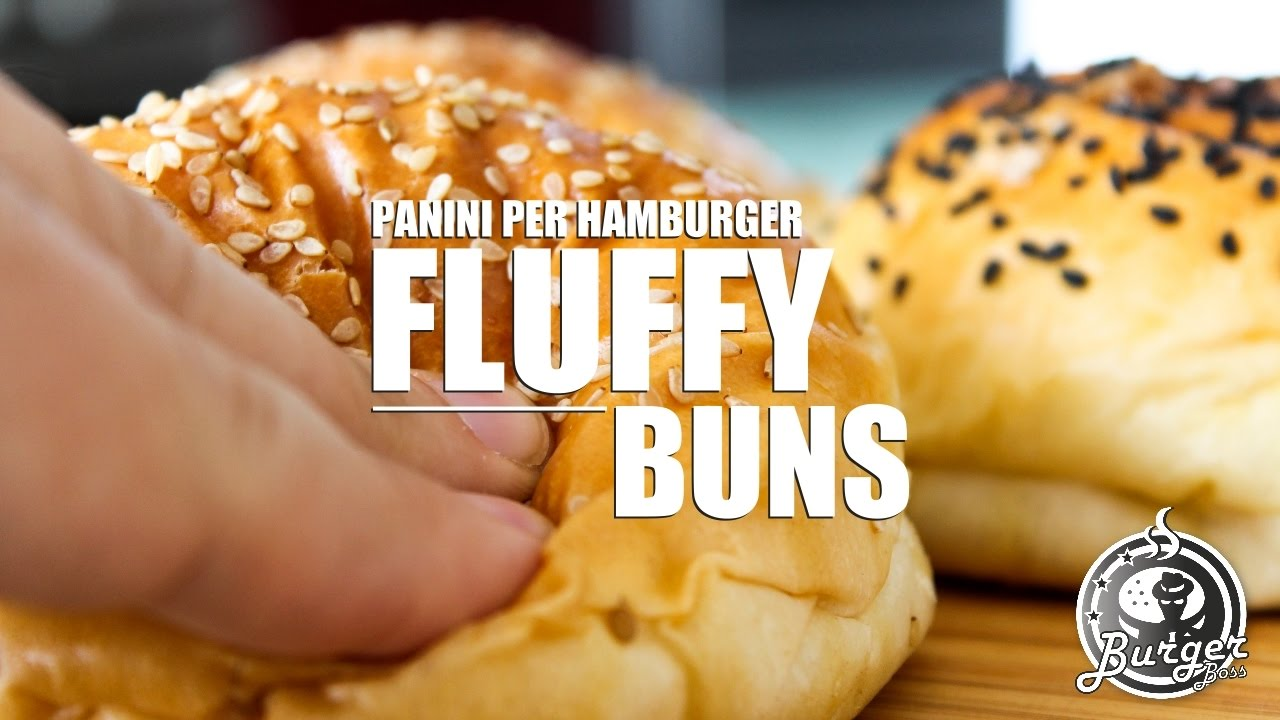 Top Fluffy Bun, panino per hamburger soffice e leggero - YouTube VD81