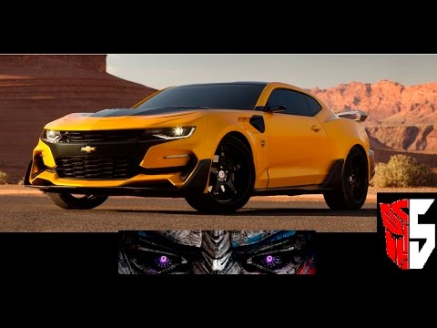 2016 Chevy Camaro For Transformers The Last Knight 2017 Blebee You