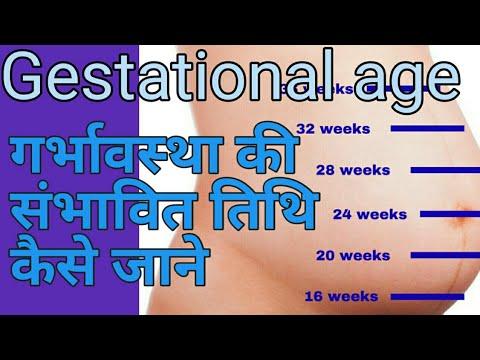 How To Calculate Gestational Age In Hindi गर्भावस्था की संभावित तिथि कैसे जाने Gestation Age In Week