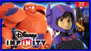 Disney Infinity 2.0 - Baymax & Hiro Gameplay
