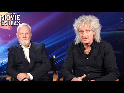 BOHEMIAN RHAPSODY | On-set Visit With Roger Taylor & Brian May