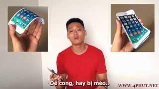 Bài ca Iphone 6 Plus (chế Về đâu mái tóc người thương - Quang Lê)
