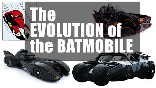 The Evolution of the Batmobile — [COMPLETE EDITION]