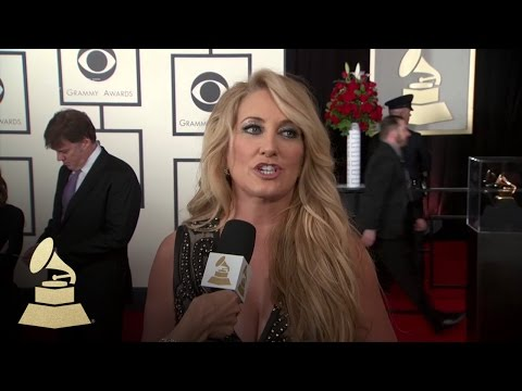 Lee Anne Womack | Red Carpet | 58th GRAMMYs