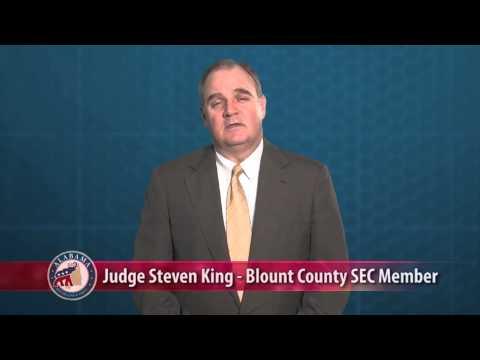 Judge Steven King Endorses Chairman Bill Armistead - ALGOP