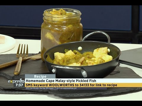 Recipe: Homemade Cape Malay-style Pickled Fish (WW)