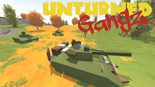 "UNTURNED GangZ - ""THREE TANK RAID in Moscow!!"" - S2E13 (Multiplayer Server / PvP / Pranks)"