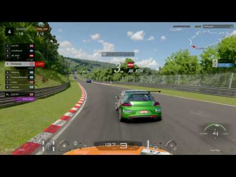 GT Sport Closed Beta - Nurburgring Nordschleife Gr4 Fuel Economy Race #2