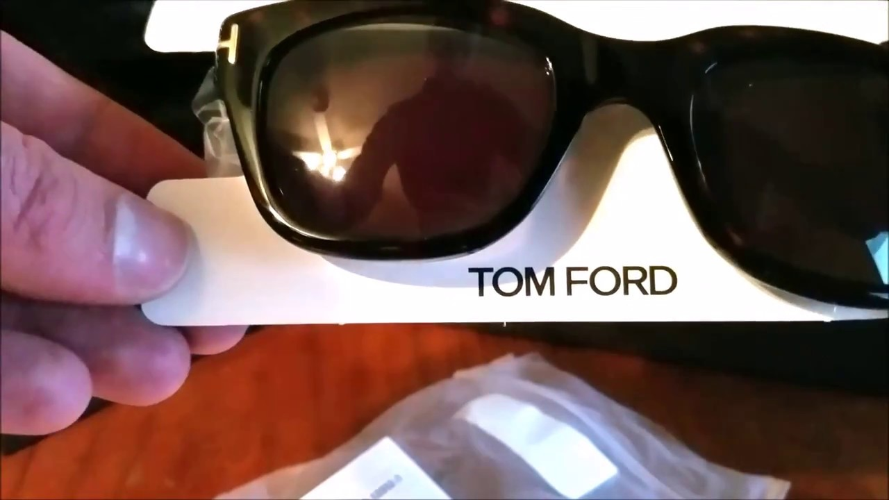 67ee1b8e26be Unboxing -  Snowden  Sunglasses by Tom Ford - YouTube