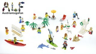 Lego City 60153 People Pack - Fun at the Beach - Lego Speed Build Review