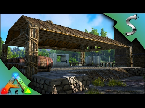 THE BREWERY! PLUS INDUSTRIAL COOKER AND GRILL!  - Ark: Survival Evolved [S3E50]