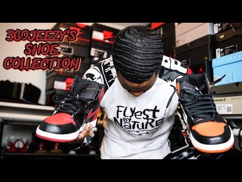 360 JEEZY'S SNEAKER COLLECTION