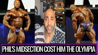 DENNIS JAMES talks about MR OLYMPIA 2018 and PHIL HEATH`s performance