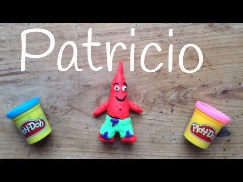 Patricio de plastilina Play Doh, figuras de plastilina paso a paso