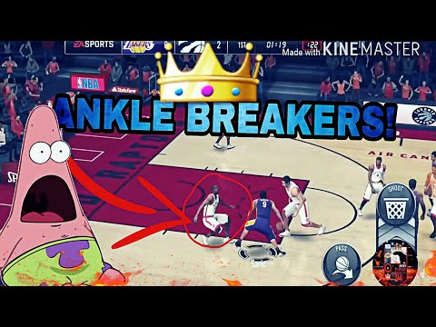 Best Ankle Breakers In NBA LIVE MOBILE!
