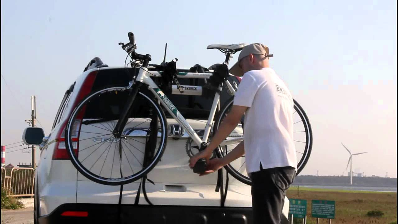 Bicycle Hitch Rack >> BN'B RACK - Installation Video - BC-6301-3E (SUV) - YouTube