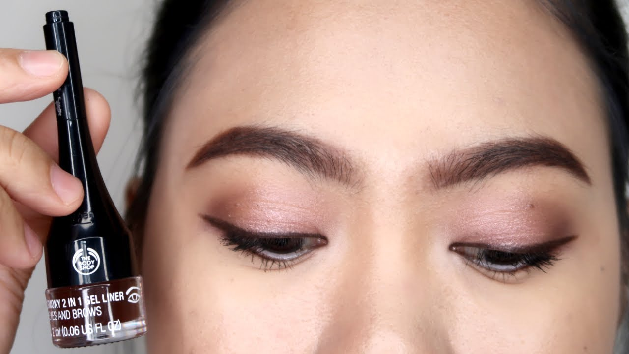 The Body Shop Smoky 2 In 1 Gel Liner For Eyes And Brows Review Philippines
