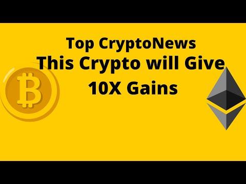 Top Crypto News: Bitcoin Ethereum  Dogecoin. One 10X Coin