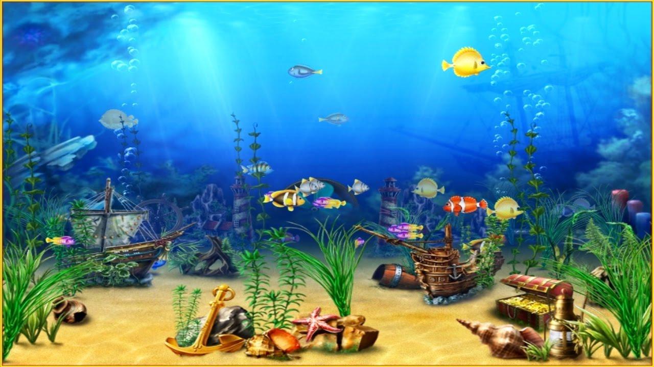 bildschirmschoner 3d aquarium