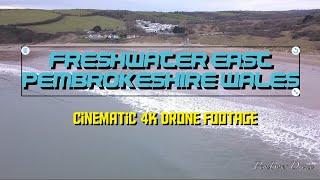 4K Freshwater East Pembrokeshire Wales