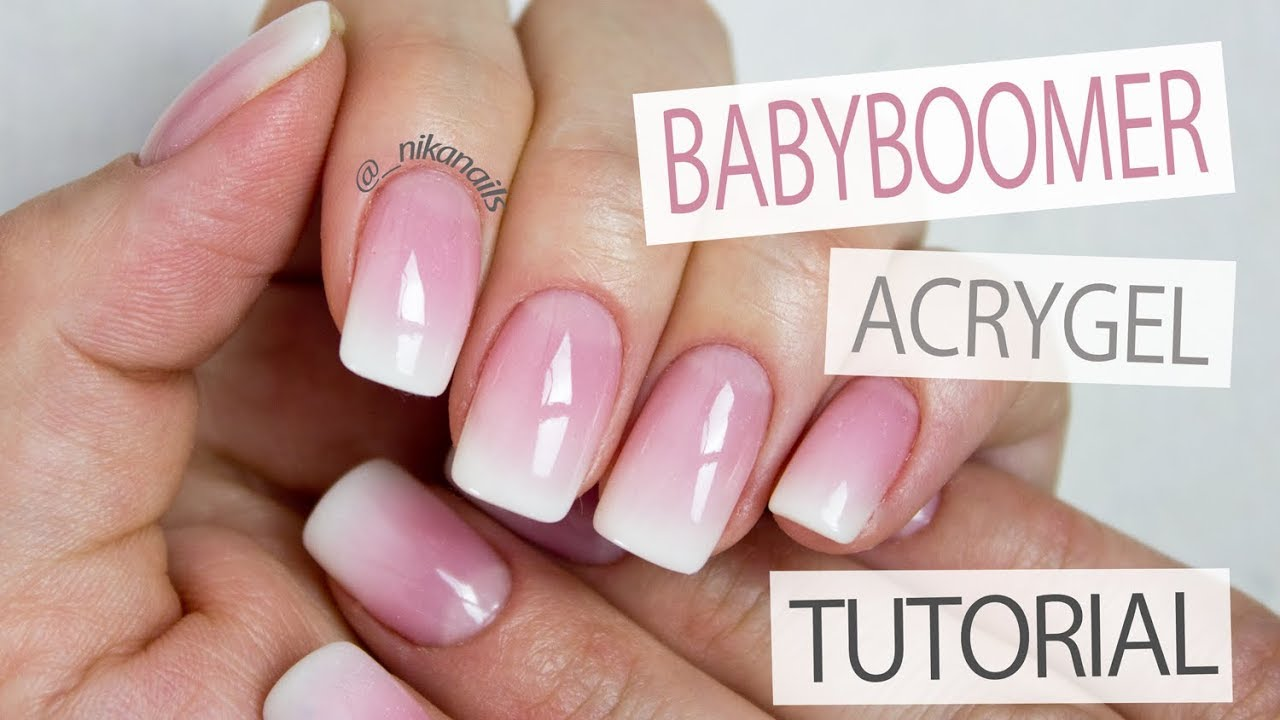 Download How to: Perfect Baby Boomer Nails - French Ombre With AcryGel Tutorial