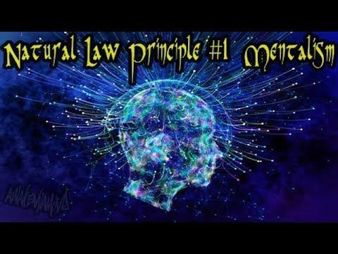 Visuals of Hermetic Principles  #1: Mentalism  - video mash-up ((432Hz))