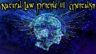 Visuals of Hermetic Principles  #1: Mentalism  - musical video mash-up ((432Hz))