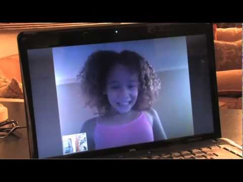 The dray meets 9 year old talia jackson on skype youtube for Jackson galaxy band
