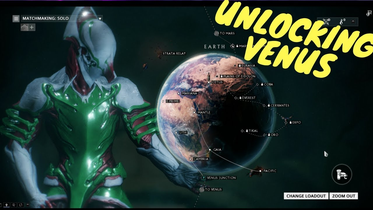 Warframe: How to Unlock Venus Junction   YouTube