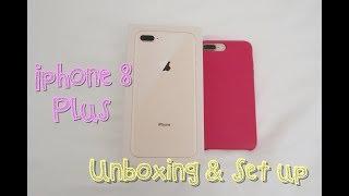 (中文English Subs) ❤️ Elaine Hau - Apple iPhone 8 Plus 開箱 & 設置 Unboxing & Set up 📱