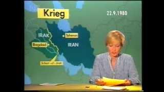 Tagesschau vom 22.09.1980
