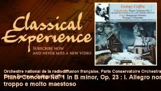 Tchaïkovsky Piano Concerto No 1 In B minor