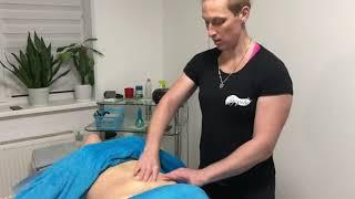 Массаж живота после родов massage of the abdomen