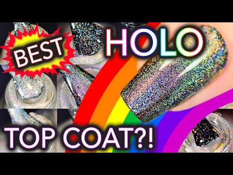 What's the best HOLO top coat?! (click if holosexual)